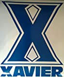 XAVIER Cornhole Board Decals and 2 Cornhole Hole Decals