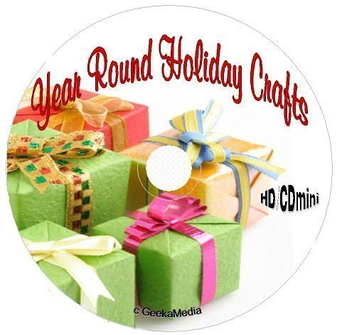 30 Holiday Crafts Books on CD Halloween Christmas Easter Mother Father 4th St -