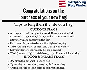 Gettysburg Flag Works 3x5' Seabees Flag, All-Weather Outdoor Nylon, Made in USA by Gettysburg Flag Works