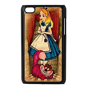 JenneySt Phone CaseAlice in Wonderland Girls Animal FOR IPod Touch 4th -CASE-13