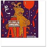 Alf Purple Small Napkins (16ct)