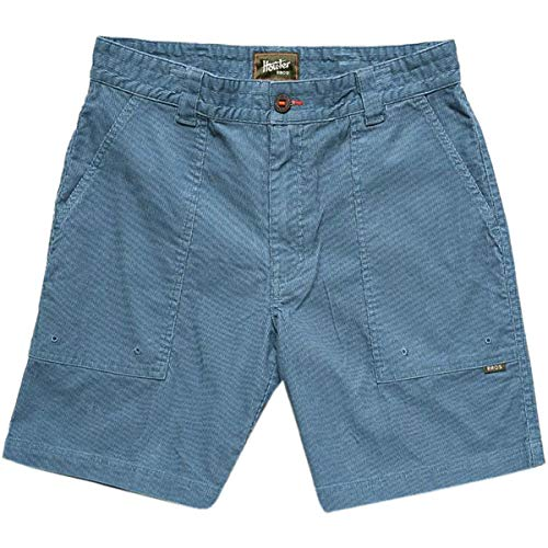 Corduroy Shorts - Howler Brothers Cornerstone Corduroy Short - Mid Blue - 36