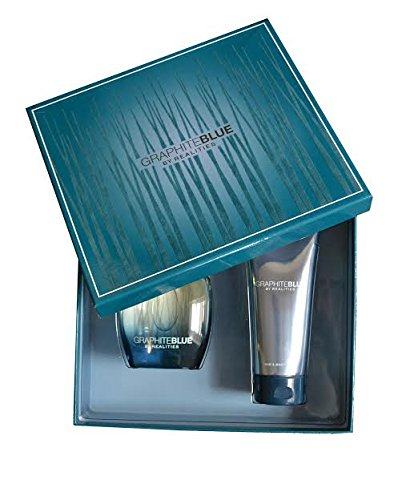 Graphite Blue by Realities Gift Set 3.4 oz. Cologne, 6.7