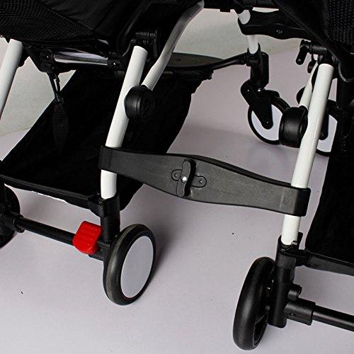 Semoic 3 pieces Douille daccouplement dans les poussettes pour connecteur de poussette de baby yoya Adaptateur pour faire YOYO en jumeaux de landaux