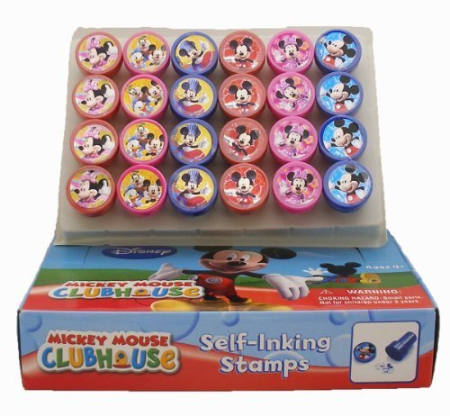 Mickey Mouse and Minnie Stamp - Set of 24