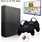 Retro Game Console , HD Video Game Console Entertainment System Built-in 843 Classic Game Player 4K HDMI TV Output with 2PCS Joystick