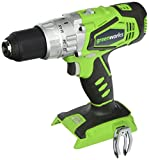 Cheap Greenworks 24V 2-Speed Cordless Hammer Drill, Battery Not Included 3700502A