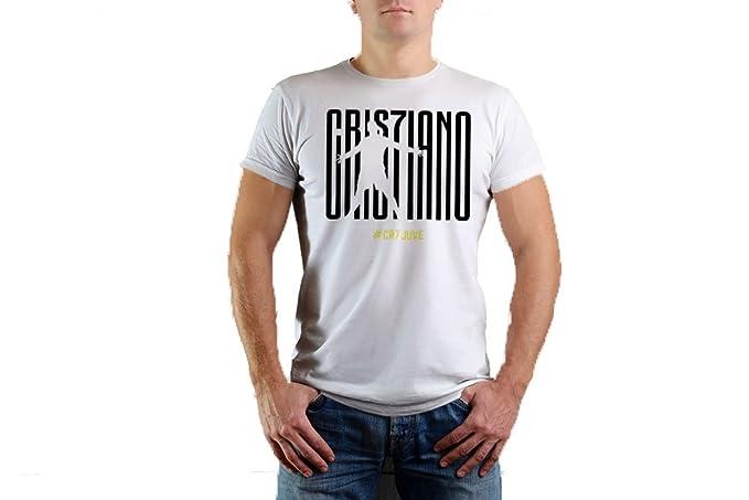 JHK - Camiseta - Liso - Clásico - Manga Corta - para Hombre Bianco XS