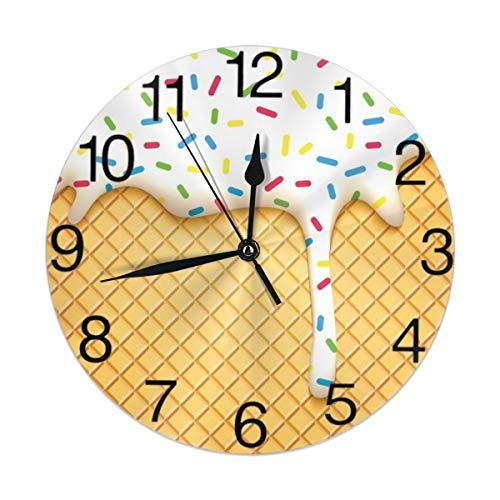 ice cream cone wall clocks - 7