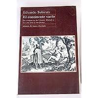 El Continente Vacio (Actas) (Spanish Edition)