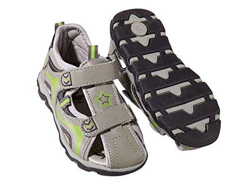 Kleinkinder Jungen Sandalen Farbe Größe wählbar Sommerschuhe Schuhe Grau-Grün