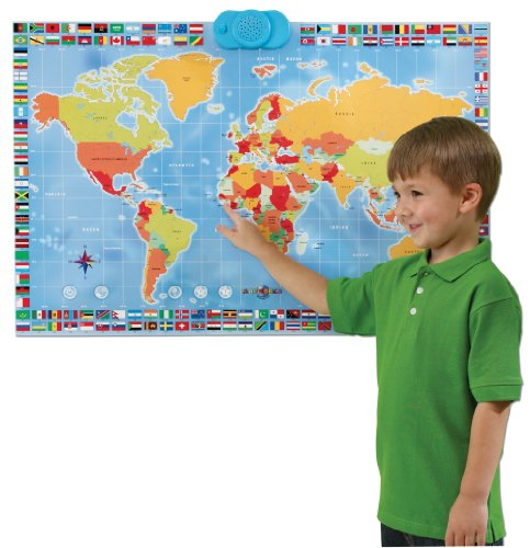 Amazon zanzoon map world interactive talking world map toys amazon zanzoon map world interactive talking world map toys games gumiabroncs Image collections
