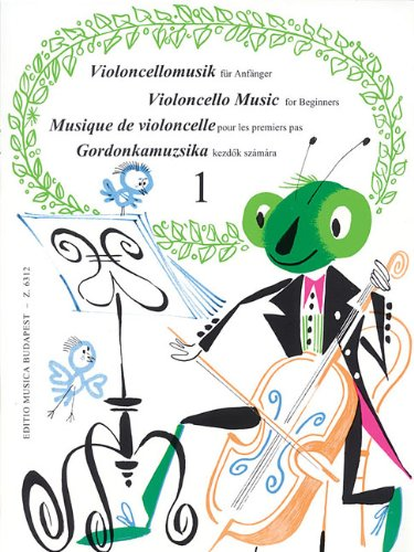Violoncello Music for Beginners - Volume 1 pdf