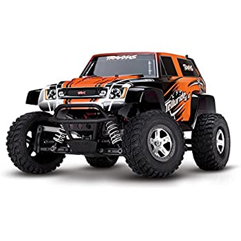 Traxxas Telluride: 4X4 Electric Extreme Terrain 4WD Monster Truck (1/10 Scale), Orange