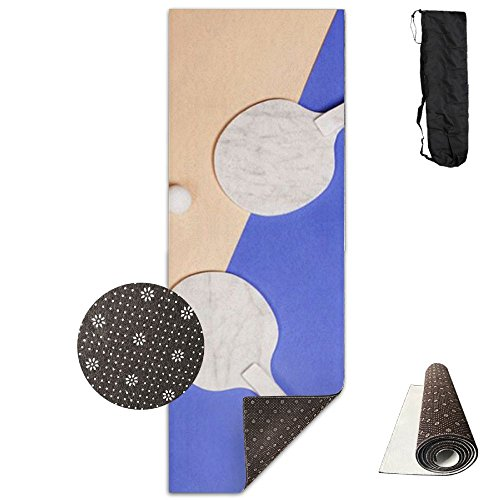Yoga Mat Ping-pong Ball Sport Durable Yoga Towel Exercise Mat Slip-resistant Non-shedding by Yokiii