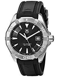 TAG Heuer Men's WAY1110.FT8021 300 Aquaracer Analog Display Swiss Quartz Black Watch