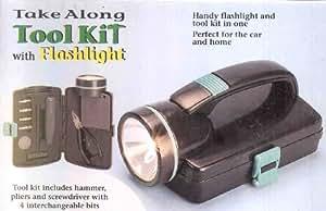 Tool kit with Flashlight