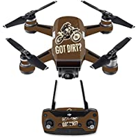 Skin for DJI Spark Mini Drone Combo - Got Dirt| MightySkins Protective, Durable, and Unique Vinyl Decal wrap cover | Easy To Apply, Remove, and Change Styles | Made in the USA