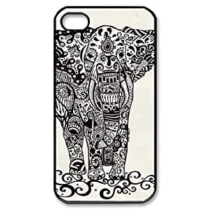 Aztec Elephant ZLB532638 Brand New Case for Iphone 4,4S, Iphone 4,4S Case