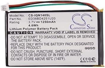 1490T Pro Battery fits Garmin Nuvi 1400 1490TV 1490 1450 1490T 1450T