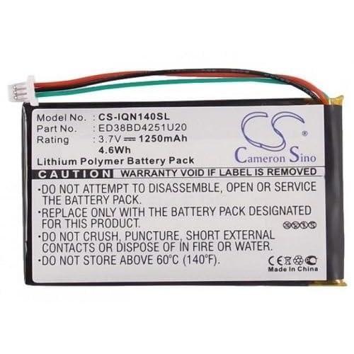 VINTRONS Battery for Garmin Aera 500,Aera 510,Aera 550,Aera 560 ...