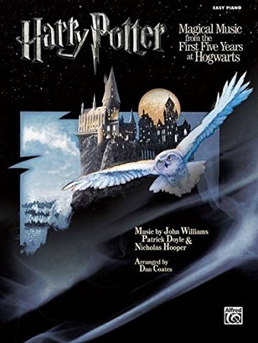 harry potter magical music easy piano sheet music collection piano