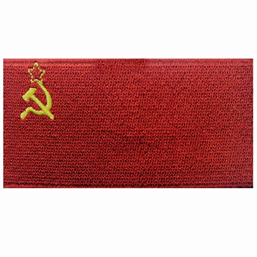 Soviet Union Flag Embroidered USSR Patch Communist CCCP Iron On Sew On National Emblem