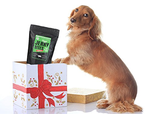 Beef Jerky Dog Treats - Natural Made in the USA - Pet Training Treat by PetzPaw Pet Products (Image #1)