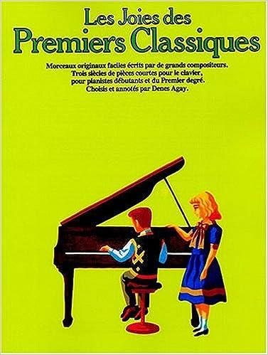 Joies des Premiers Classiques piano