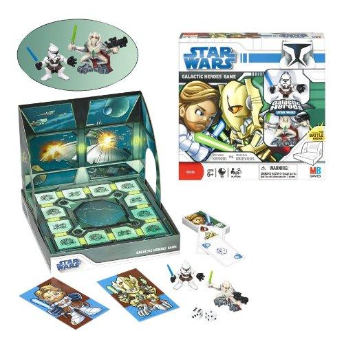 Milton Bradley Star Wars Galactic Heroes Game OBI-WAN vs General Grievous