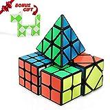 Speed Cube Set, INTEGEAR Magic Cube Bundle 2x2