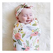 Mummyhug Newborn Receiving Blanket Swaddle Sack Baby Props with Headband