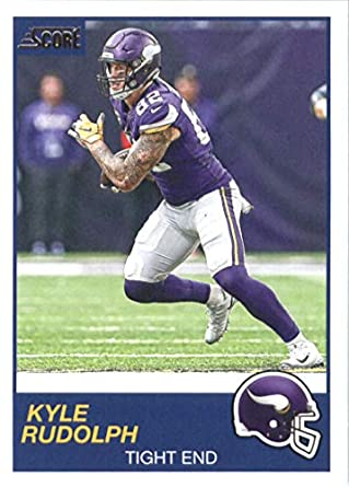 finest selection 36d2a 11aa8 Amazon.com: 2019 Score #238 Kyle Rudolph Minnesota Vikings ...