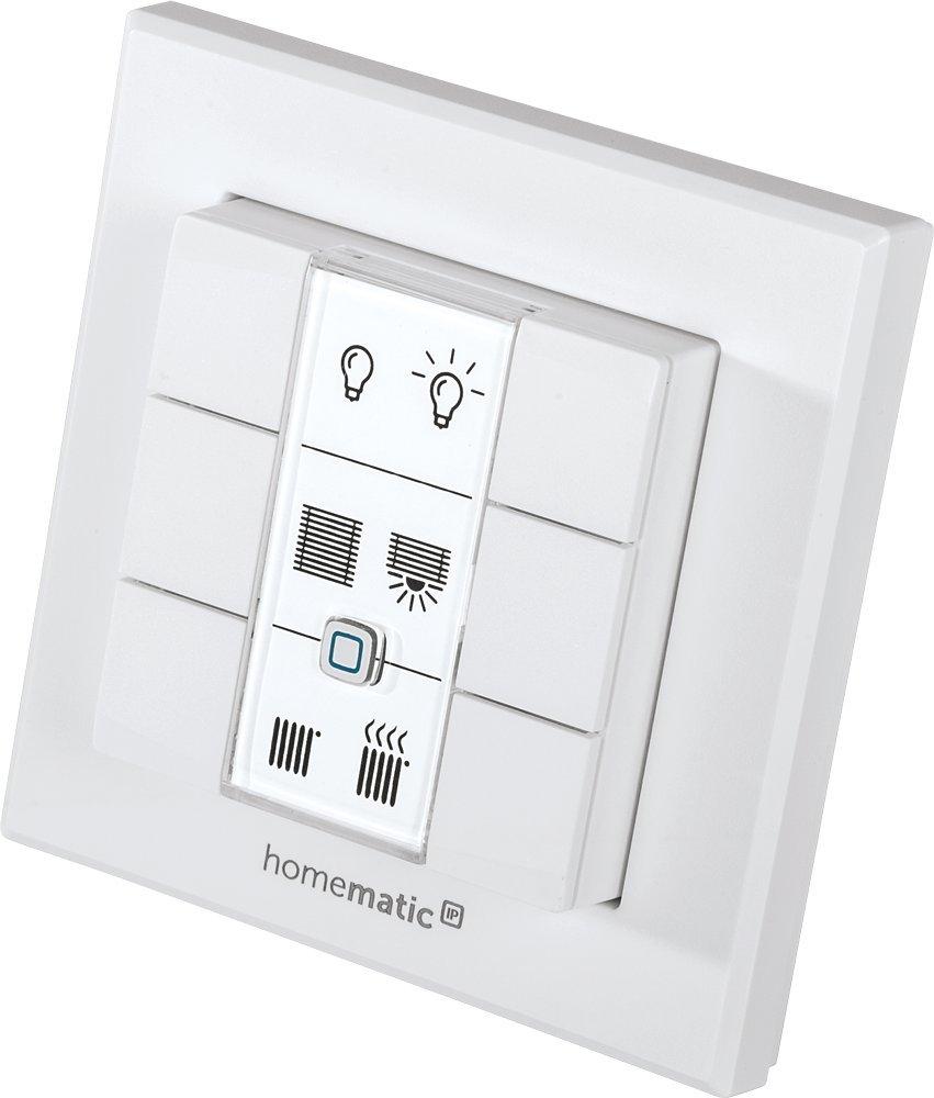 Homematic IP Schlüsselbundfernbedienung – 4 Tasten, 140740A0 eQ-3 AG