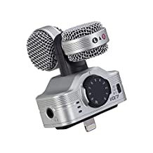 ZOOM IQ7 MIC.MS x iPHONE Portable recorder