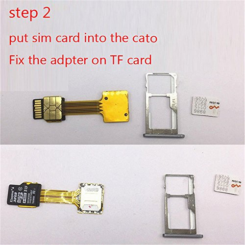 Amazon com: Lollipop Upgrade Micro Dual SIM Card Micro SD