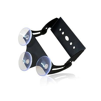 "Xprite Adjustable Suction Cups Holder Bracket for 18"" 27"" 31.5"" 35.5 Inch LED Emergency Traffic Advisor Strobe Light Bar - 1 Pack: Automotive"