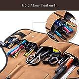 Work Apron - UHINOOS 16 Pockets Professional Heavy