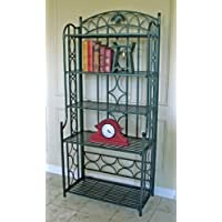 5-Tier Iron Indoor/Outdoor Bakers Rack