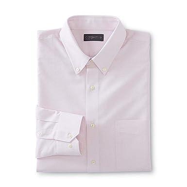 Covington Mens Oxford Long Sleeve Classic Fit Dress Shirt