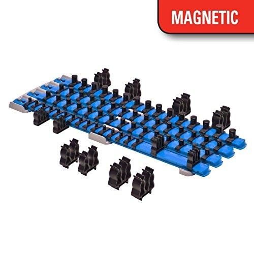 APT/ Ernst 8470 RD + 8471 BL TWIST LOCK Socket Organizer Red / Blue Systems by APT/Ernst (Image #1)
