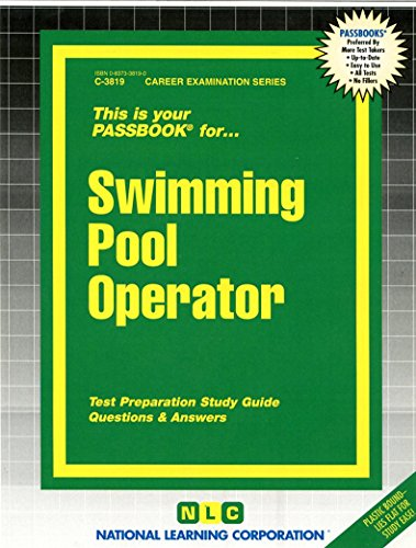 Swimming Pool Operator(Passbooks) (Career Examination Passbooks)