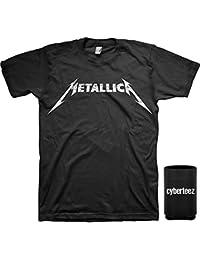 Metallica Logo T-Shirt (Sizes S-5XL)