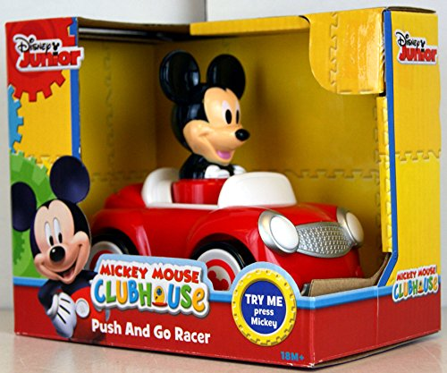 Disney Mickey Mouse Mouse Push and Go Racer Car