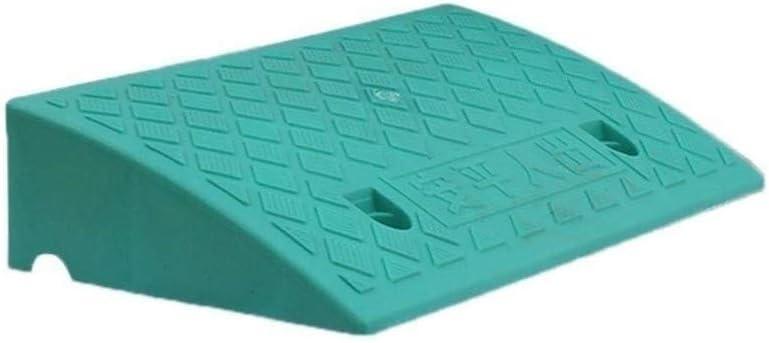 Triángulo de plástico Pad, de alta resistencia de plástico duro travesaño de la puerta de apuntes, Silla de ruedas plegable móvil de ciclomotores de coches y de motos portátil encintado Rampa Pad 3-13