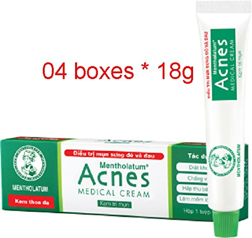 04 Boxes 18G Acnes Medical Cream Acne Treatment - Treatment von Redness und Painful Acne