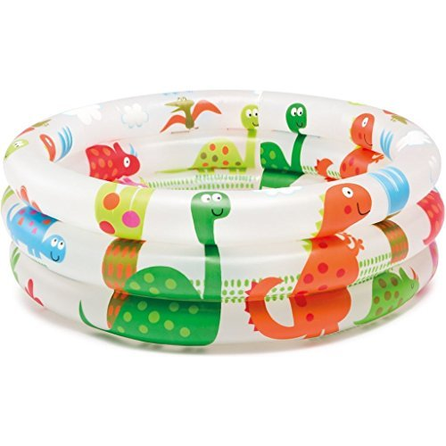 Intex Dinosaur 3 Ring Baby Pool (24 in x 8.5 -