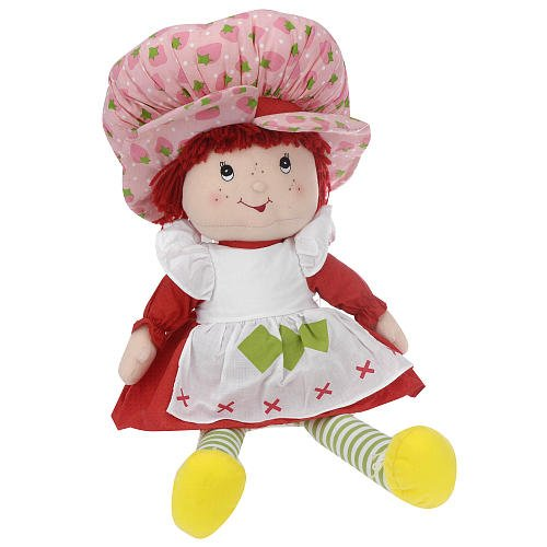 Strawberry Shortcake Cloth Doll, - Strawberry Shortcake Clothes Doll