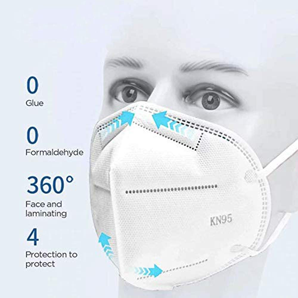 Ichen Face Protection 10 PCS Anti Pollution Dust-proof And Breathable Wearable Outdoors Garden Factory Labor Protection