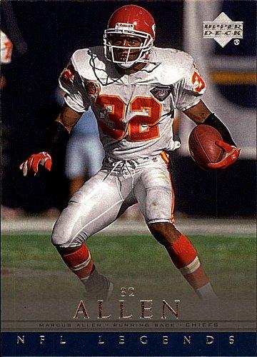 2000 Upper Deck - NFL Legends - Marcus Allen - Kansas City Chiefs - Card 52 by Upper Deck